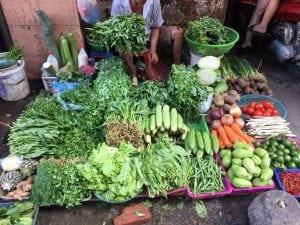 שוק ירקות וייטנאם